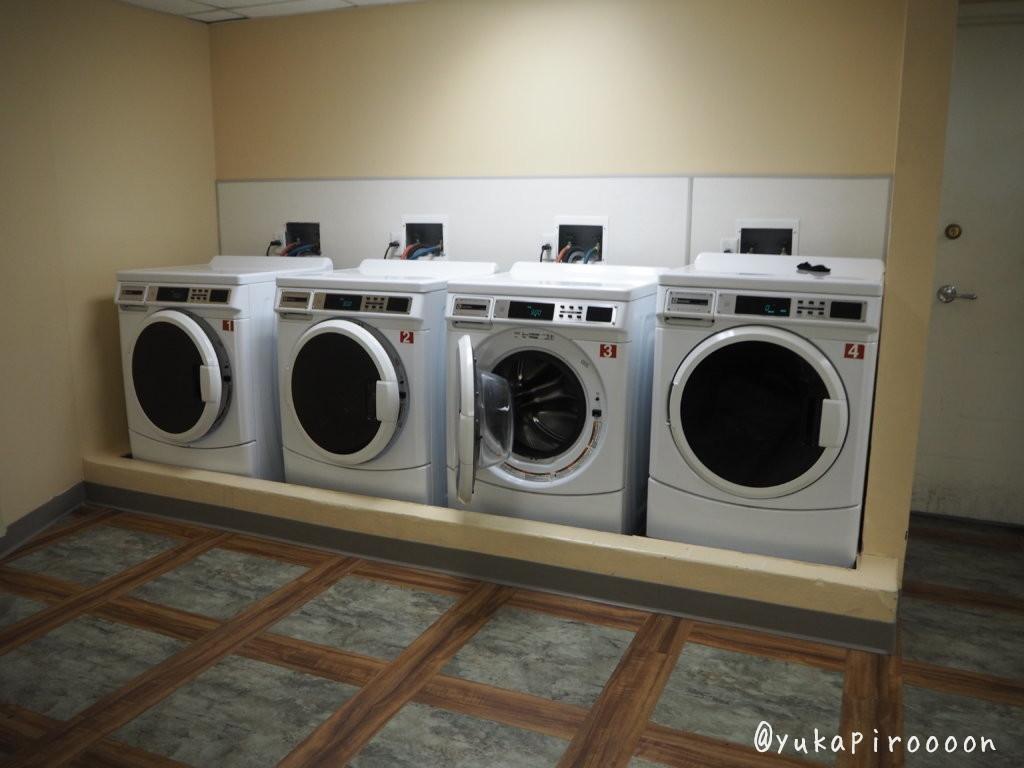 BoardWalk Innの洗濯機・乾燥機