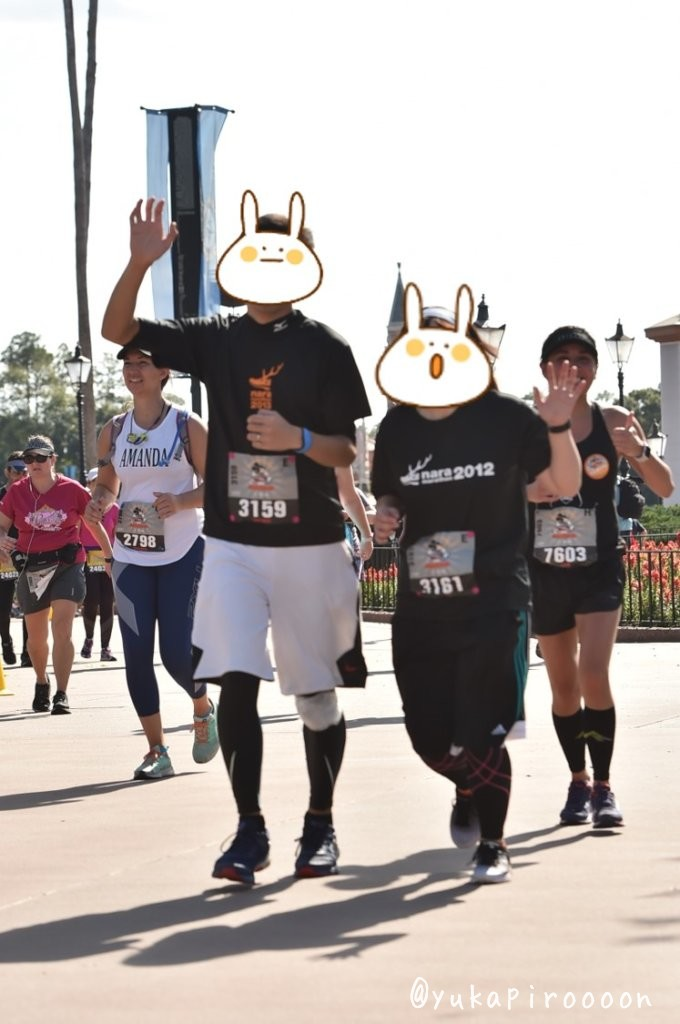 Walt Disney World Marathon WeekendEpcotのPhotopass