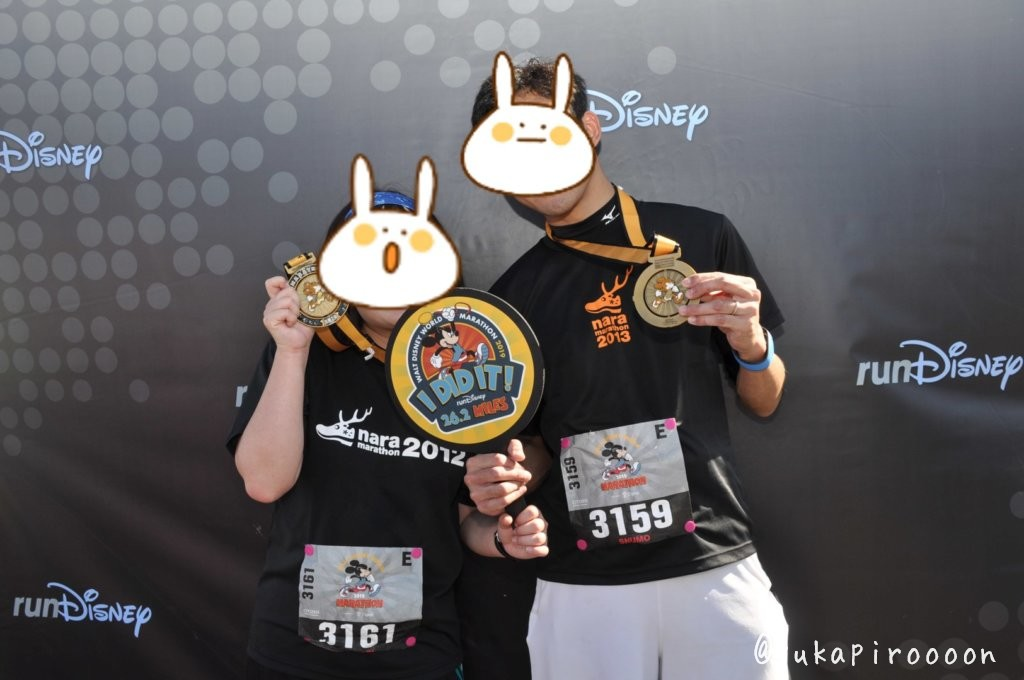 Walt Disney World Marathon Weekendの完走メダル