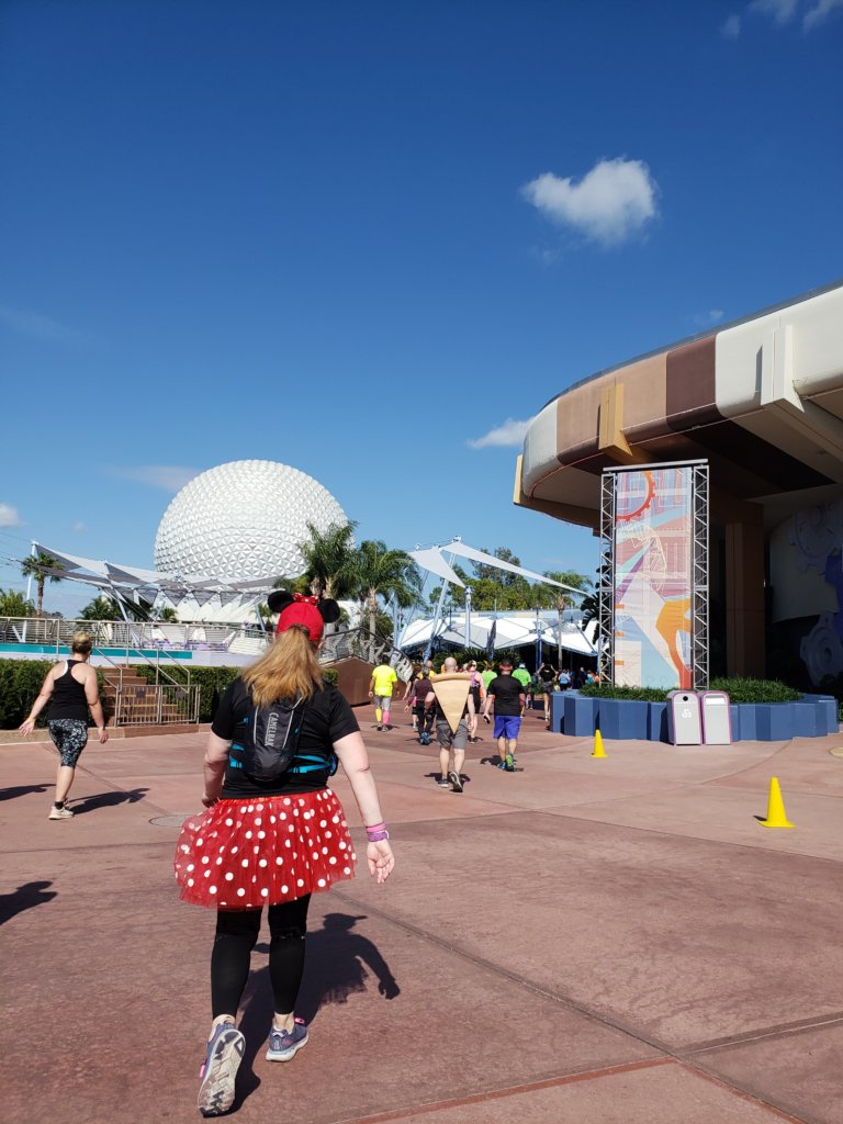 Walt Disney World Marathon Weekendスペースシップアース