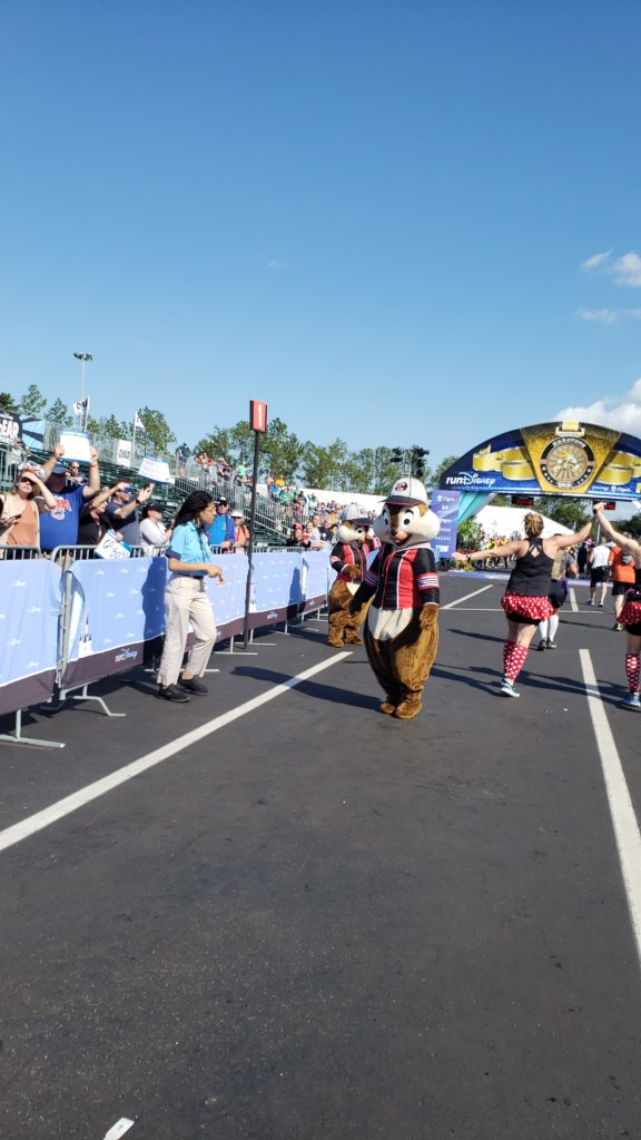 Walt Disney World Marathon Weekendゴール前