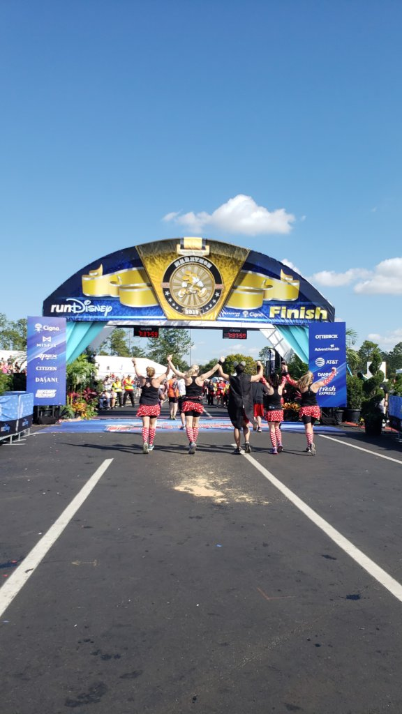 Walt Disney World Marathon Weekendゴールライン