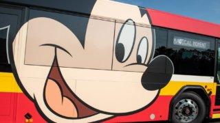 WDW ミッキーのシャトルバス