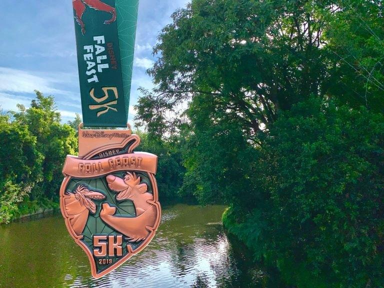 2019Wine&Dine 5k medal