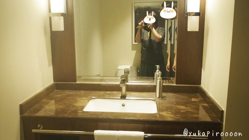 ホリデイ・インマカオの洗面台1