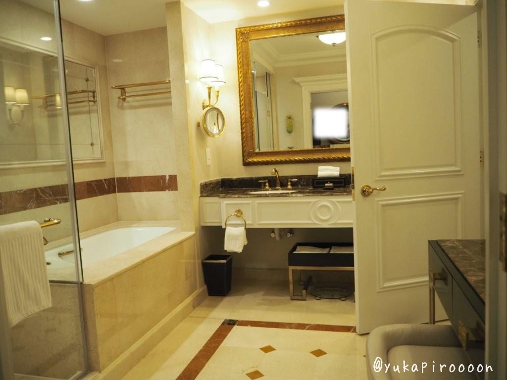 ヴェネチアンマカオホテルの部屋