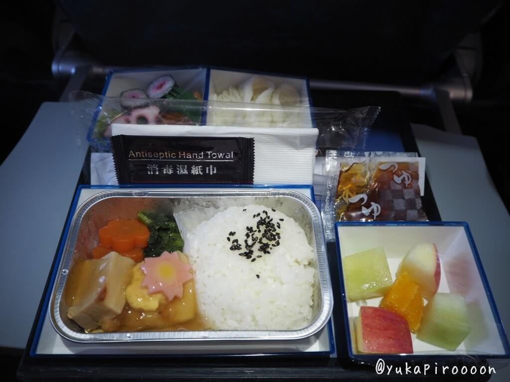マカオ航空機内食