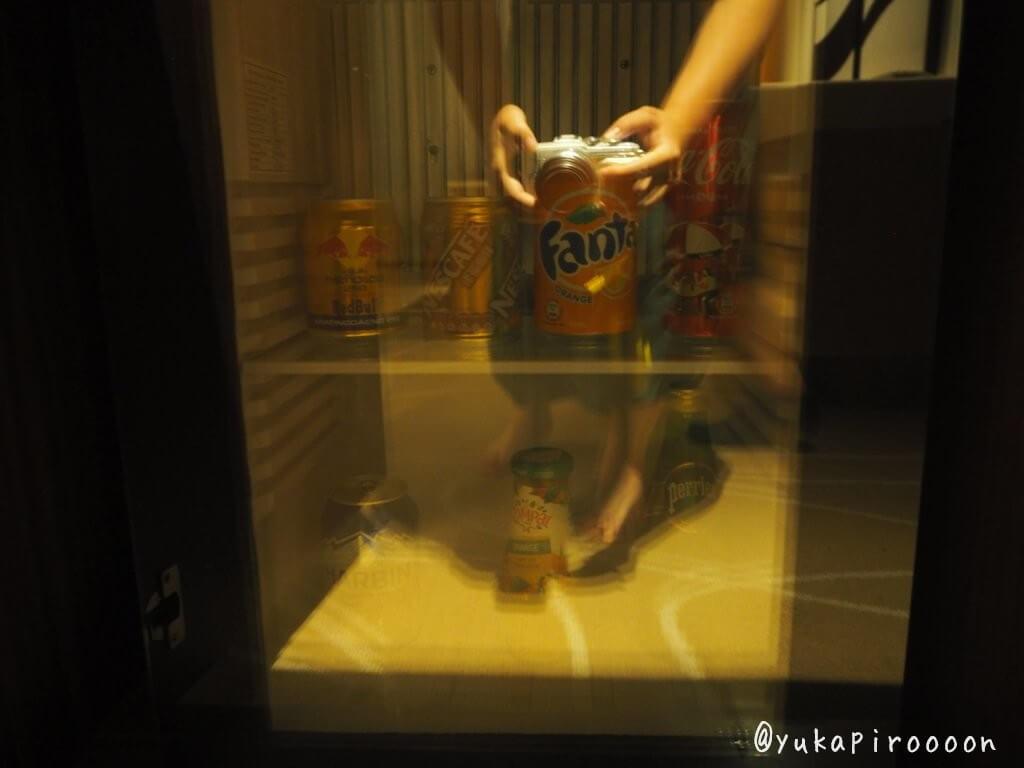 ホリデイ・インマカオの冷蔵庫