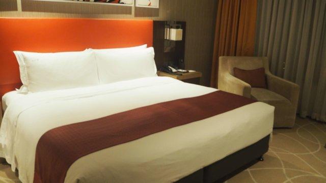 ホリデイ・インマカオのベッドルーム