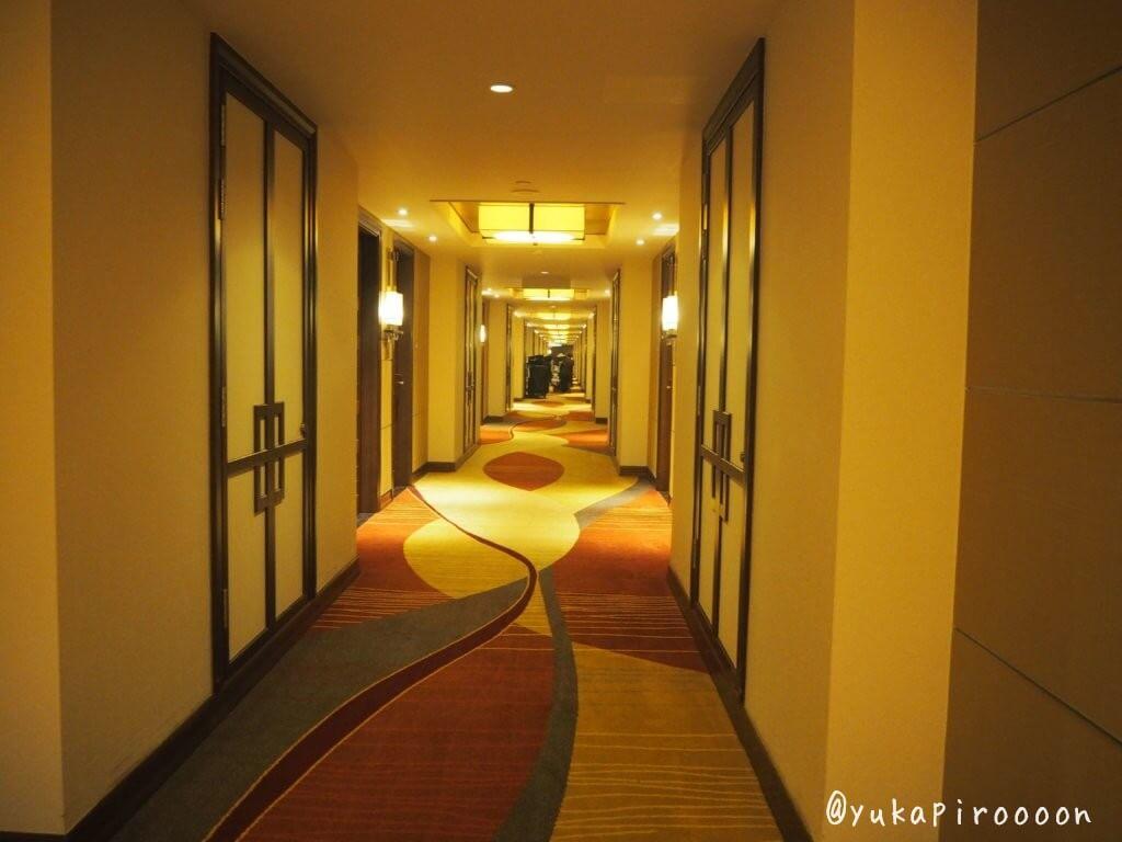 ホリデイ・インマカオの廊下
