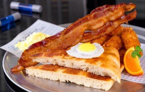 Calculated Breakfast = E x 2 + (B+P)/T