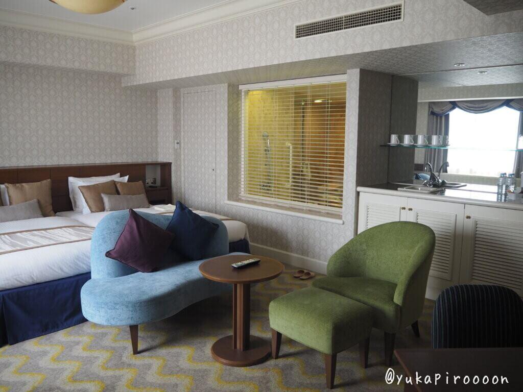 ホテルオークラ東京ベイのジュニアスイートルーム