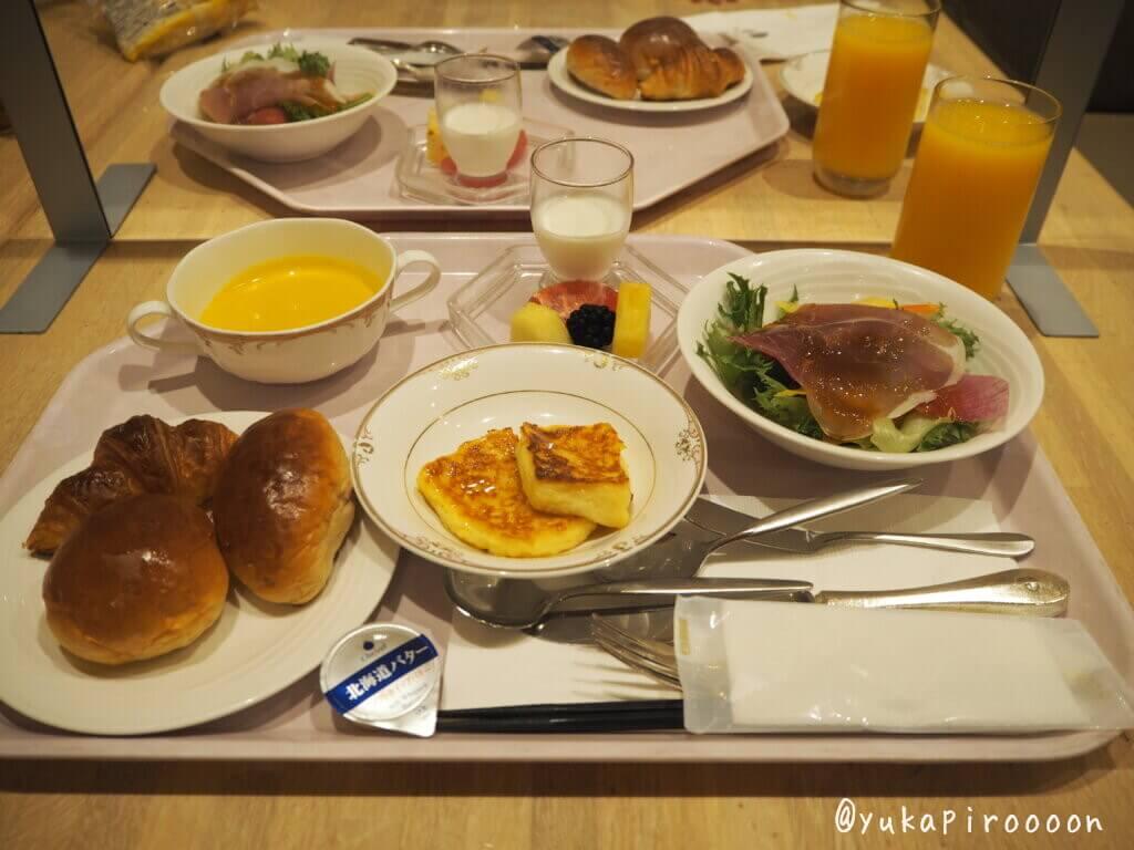 ホテルオークラ東京ベイの朝食セット